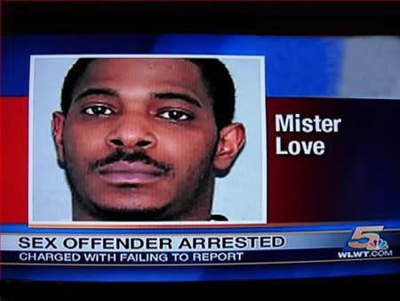 Mister Love, zedendelinquent