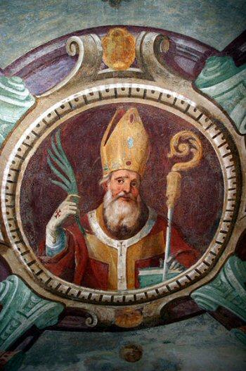 De heilige Calimero, bisschop van Milaan