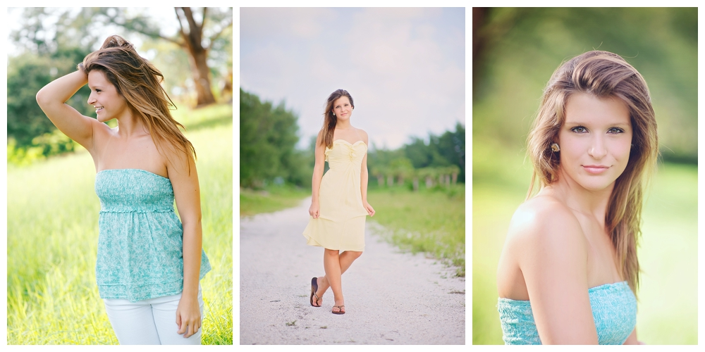 Senior Portraits on Clearwater Beach by Vernon Photography