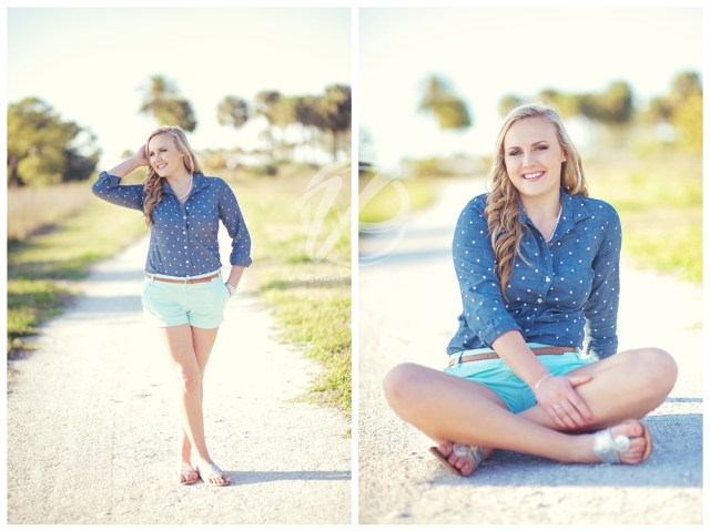 Clearwater Florida Senior Portraits by Vernon Photography