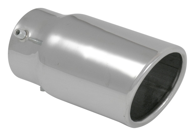 bolt on exhaust tip 2 25 in x 3 1503