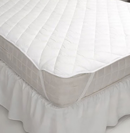 Mattress Pad With Anchor Straps