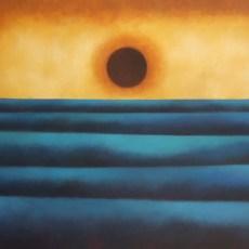 """Deep Inside 38x64"""" Acrylic on canvas, 2010  SOLD"""