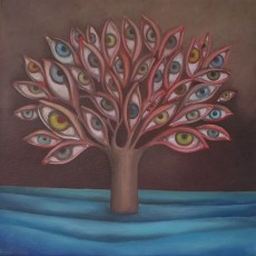 """To See Oil on canvas 12x12"""" Oil on canvas, 2007  SOLD"""