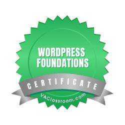 WordPress Foundations Certification