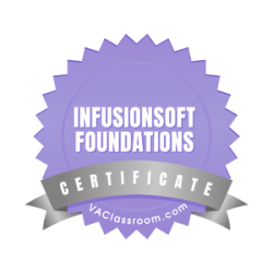 Infusionsoft Foundations Certification