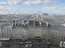 Bird's Eye View of Paris