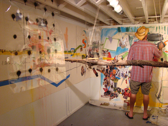 """Social Compost – Painting Machine by Veronica Reeves in """"Cagefights and Collaborations"""""""