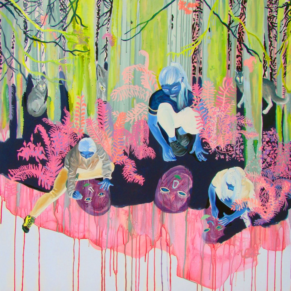Presences: Paintings by Veronica Reeves at The Joinery, Portland, Oregon, USA