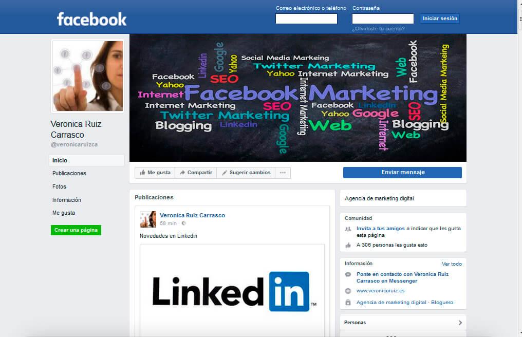 Dale a tu página Fan de Facebook un toque profesional
