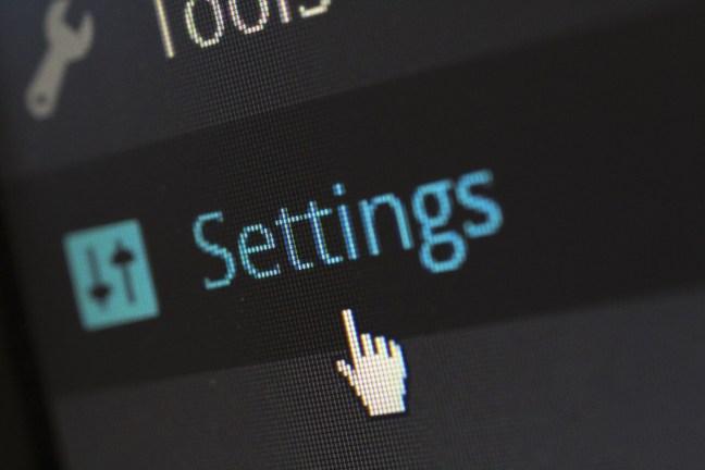 wordpress org ajustes