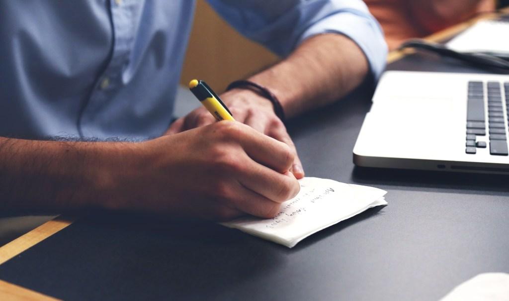 escribe una lista