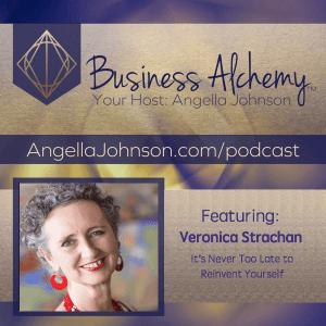 Angella Johnson interviews Veronica Strachan