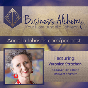 Angella Johnson interviews Veronica Strachan