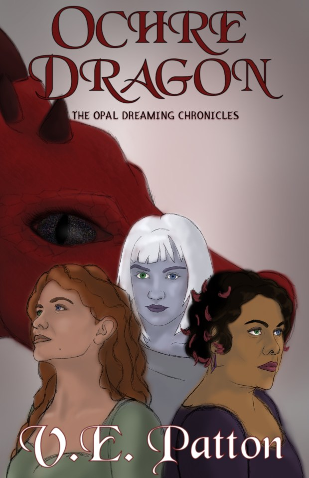 Three women and a dragon