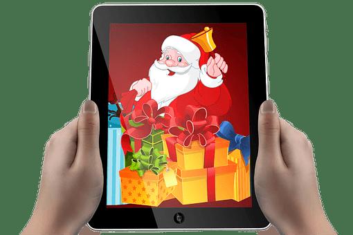 Christmas is an ebook
