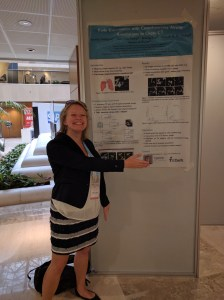 Presenting my poster at the MICCAI LABELS workshop in 2016