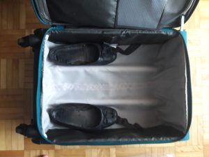Conference travel with a carry-on - fill unused spaces