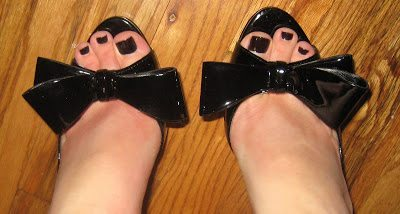 The Shoes with the Bow & OOTD's