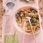 Just Peachy- Amazing Salad Recipe from Women's Health Magazine!