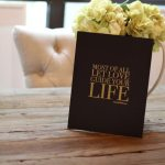 Decorating with Words & Giveaway!