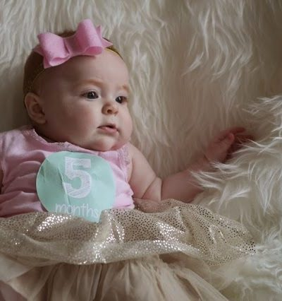 Harper Reese- Five Months Old!