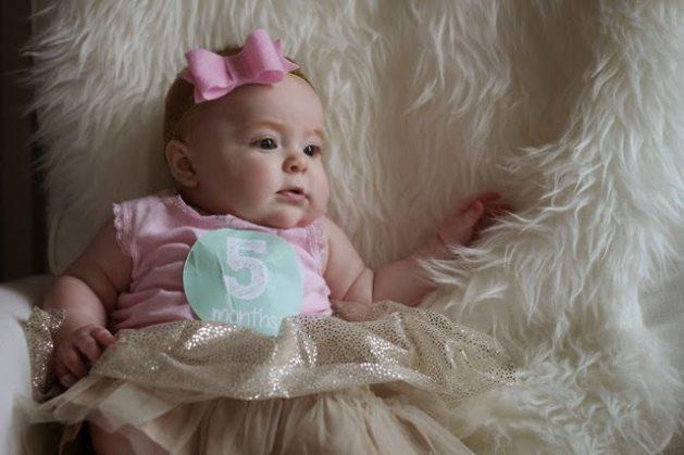 e42d65ec0055 Harper Reese- Five Months Old! - Veronika's Blushing