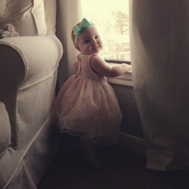 85b5e577d41c Harper Reese- 8 Months Old! - Veronika's Blushing