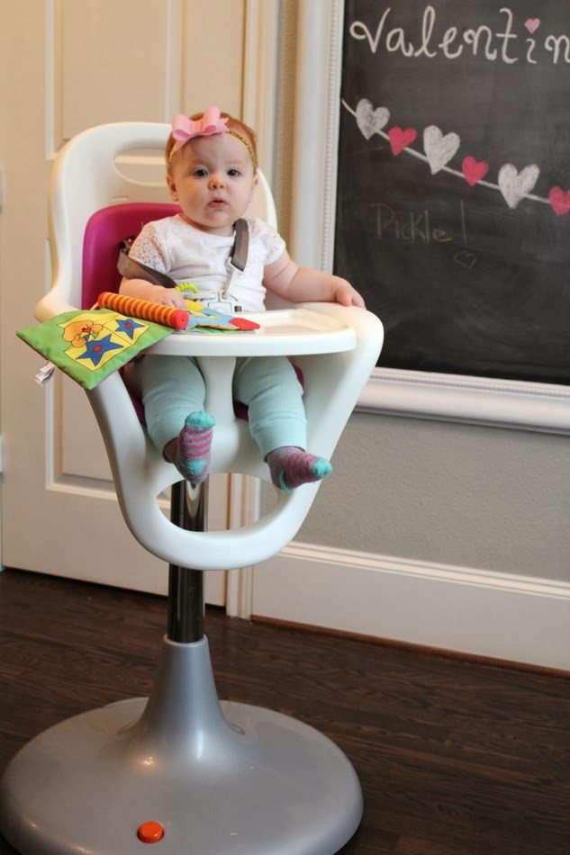 ... The Boon Has Wheels Is A Huge Bonus. I Feed Harper While Sitting On One  Of The Barstools At Our Kitchen Island And Itu0027s So Easy To Pull Her  Highchair ...