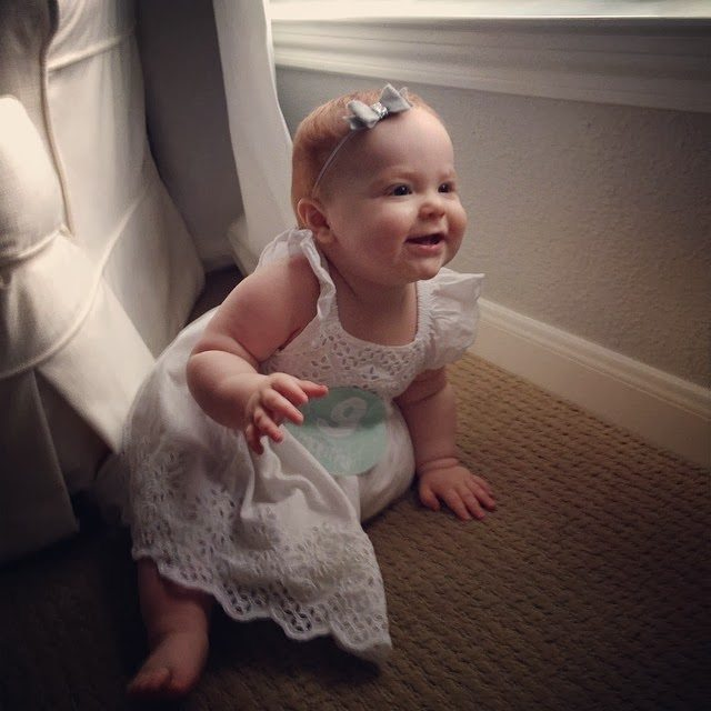 Veronika S Blushing Harper S Nursery Updated: Harper Reese- 9 Months Old!