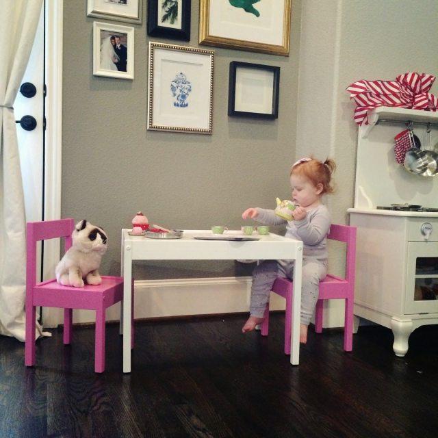 Ikea Hack L 196 Tt Playtable Amp Chairs Veronika S Blushing