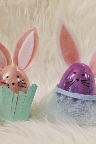 DIY Easter Egg Bunnies