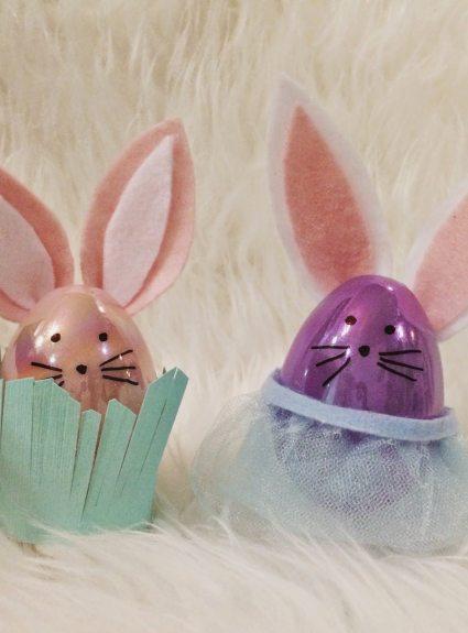 DIY Easter Egg Bunnies