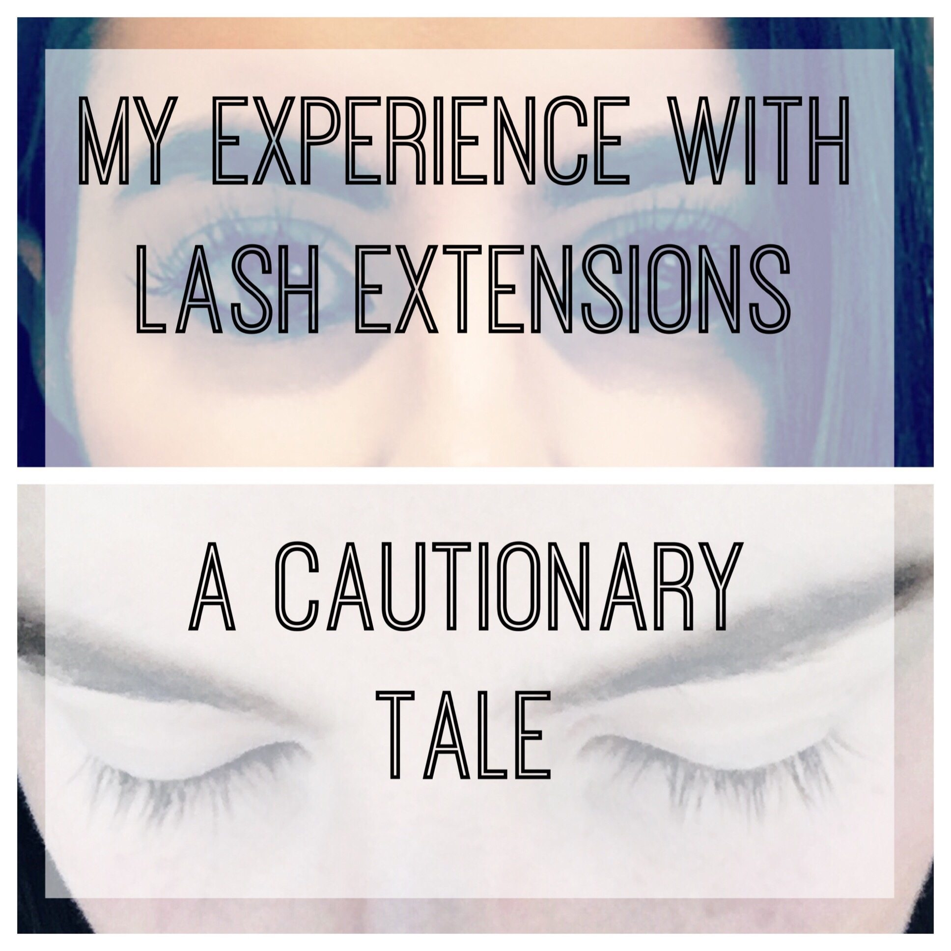29a69401215 My Experience with Lash Extensions (A Cautionary Tale) - Veronika's ...