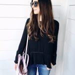 A Bell-Sleeve Top for Under $25!