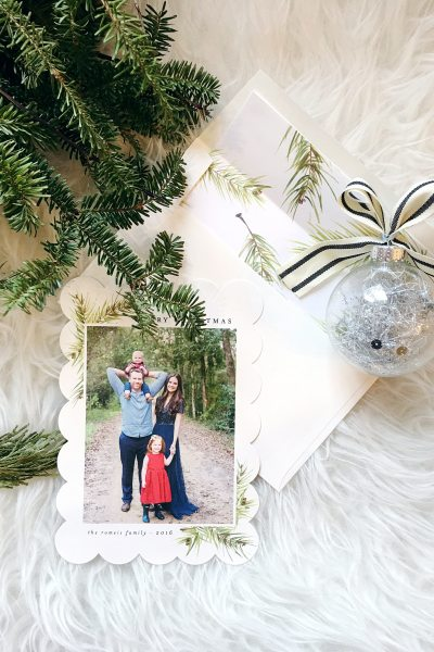 Our Christmas Cards with Minted + 12 Days of Giveaways!