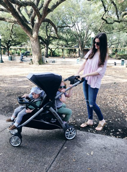 Chicco's BravoFor2 Stroller Review (The Stroller You've All Been Asking About) + A Trip to the Zoo