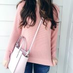 Side Button Pink Sweater