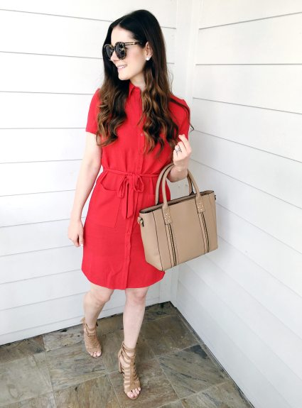 The Perfect Dress + Bag For the Office
