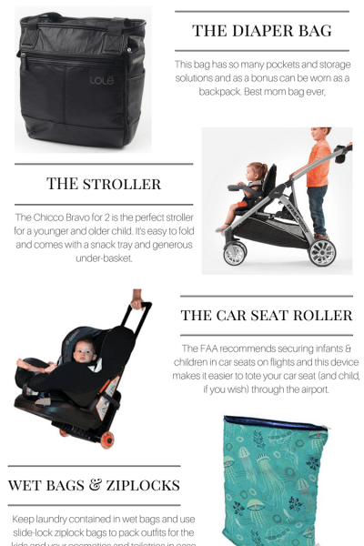 5 Things You Need for Travel with Kids