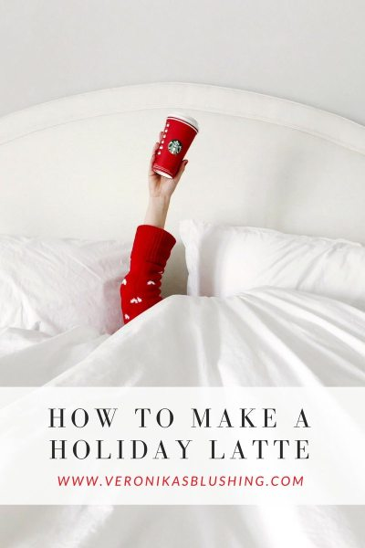 How to Make A Holiday-Flavored Latte + My Favorite Mugs