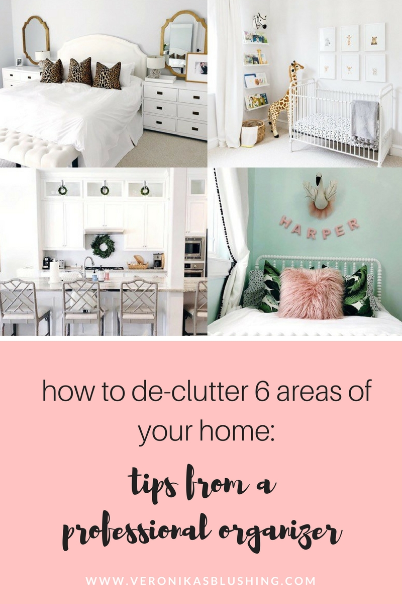 How To De-Clutter Six Areas of Your Home: Tips from a Professional Organizer