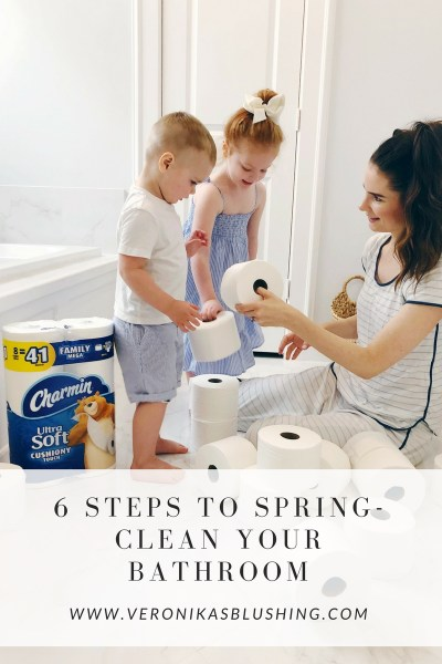 6 Steps to Spring-Clean Your Bathroom