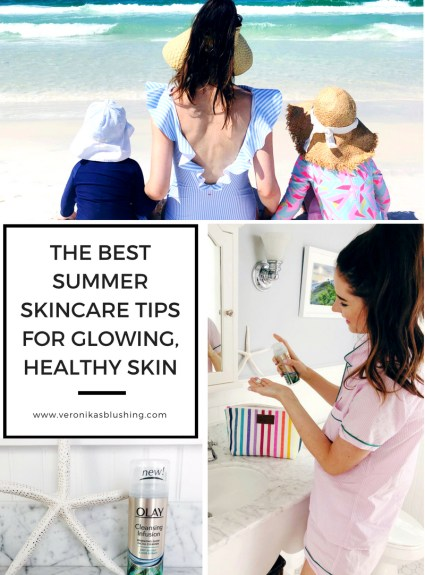 The Best Summer Skincare Tips for Glowing, Healthy Skin