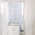 Kids Bathroom Makeover: Wallpaper + Design Plans