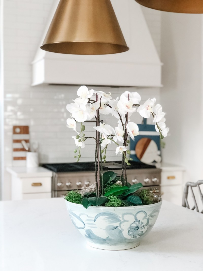 How To Make A Faux Orchid Arrangement Veronika S Blushing