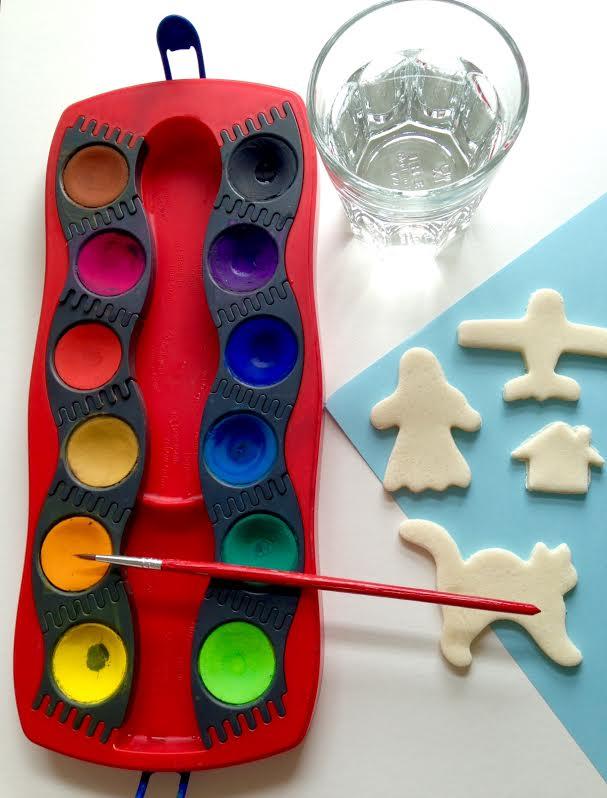 Weihnachtsbasteln Salzteig.фигурки из солёного теста просто весело ярко Basteln Mit
