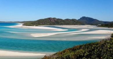 la plage de white haven beach en Australie un endroit paradisiaque