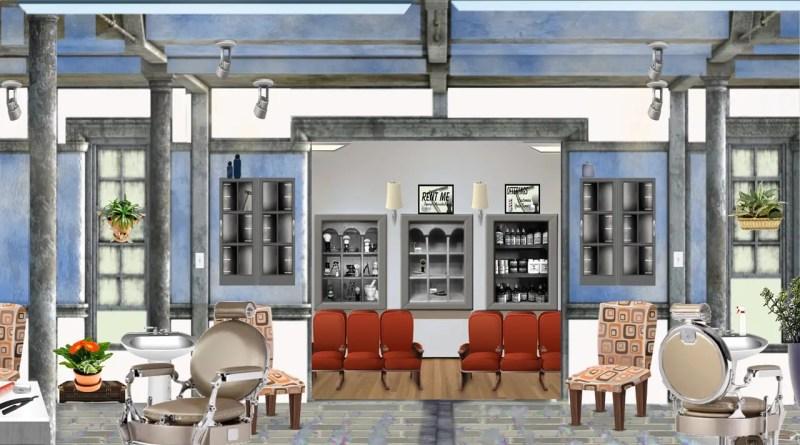 équipement mobilier salon coiffure