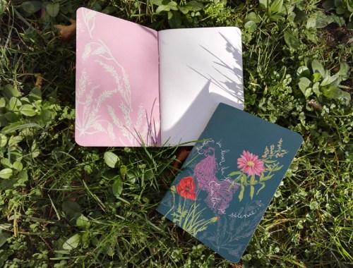 ©Véronique Milioni, créatrice, Papeterie Notebooks Coq & Lever du Jour